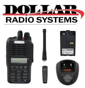 Hyt Tc3600 Uhf 400 470mhz 128ch Security Gmrs Business Portable Radio
