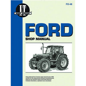 Service Manual Fits Ford New Holland Tractor 5640 6640 7740 7840 8240 8340