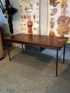 Custom Made Salvaged Work Table Desk Architectural Design L K