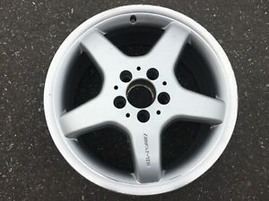 Genuine Mercedes Amg 17 Staggered Rims Clk Slk All In Good Condition 8 5 10