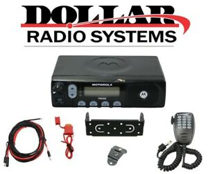 Motorola Pm400 Uhf 438 470mhz 64ch Ltr Trunking Police Ems Racing Mobile Radio