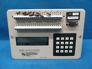 Campbell Scientific Inc 21x Micrologger tested Working