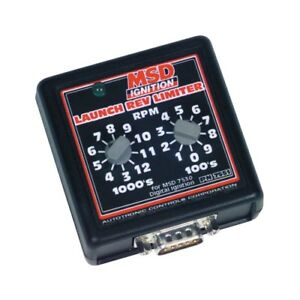 Msd Ignition 7551 Manual Launch Control For Msd Digital 7 Programmable Ignitions