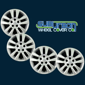 Fits 13 17 Nissan Altima 505 16s 16 Replacement Hubcaps Snap On 5 Lug Set 4
