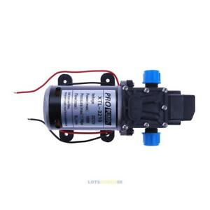 High Pressure Water Pump Micro Electric Diaphragm Pump 3210yb 12v 100w 8l min