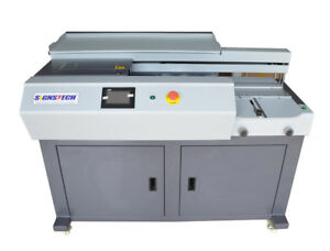 New A3 Automatic Perfect Paper Binding Machine With Side Gluing eva Book Binder
