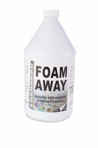 Harvard Chemical 511 Foam Away Silicone Emulsion Defoamer Low Odor 1 Gallon Bo