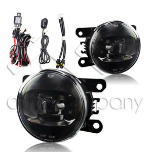 For 05 15 Ford Mustang Led Fog Lights Front Driving Lamps W Wiring Kit Clear