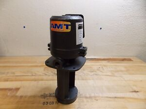 American Machine Tool Immersion recirculation Pump 1 8 Hp 3450 Rpm 5380 95