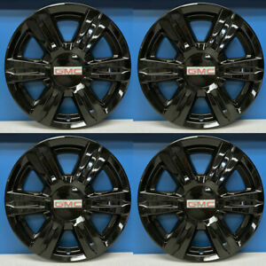 2014 2017 Gmc Terrain Sle Slt 17 Black Wheel Skins Hubcaps 7564gb Set 4