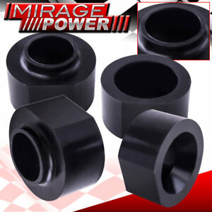 Front Rear Lift Kit 2 Black Spacer 4x2 4x4 For 93 98 Jeep Grand Cherokee Zj