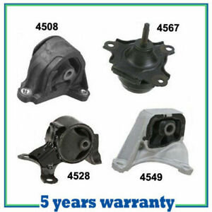 M238 Motor Trans Mount For 02 06 Acura Rsx Type S 2 0l 4pcs For Manual Trans