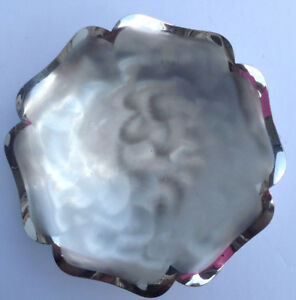 Wmf Ikora Silverplate Silver Plated Bowl 8 Stamped Pecan Bake Show 1981