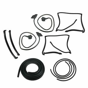 T top Rubber Weatherstrip Seal Set Kit For 78 80 Regal Olds Cutlass Supreme Rwd