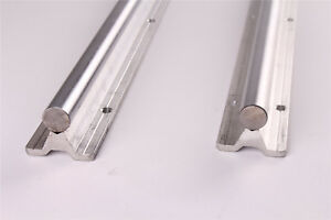 Sbr16 1500 Fully Supported 16mm Rail Shaft Slide Rods For Cnc 2pcs
