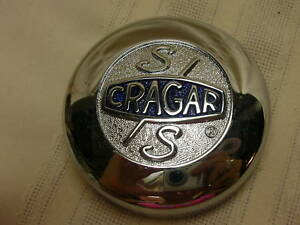 Cragar Center Wheel Cap Ss S S Chrome With Backing Plate