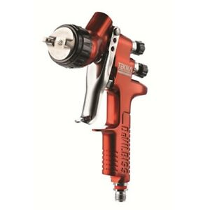 Devilbiss Tekna Copper Gravity Feed Paint Gun 703661 Auto Body Paint Tools