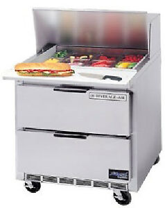 Beverage air Food Sandwich Prep Tables 36 Sped36 08c
