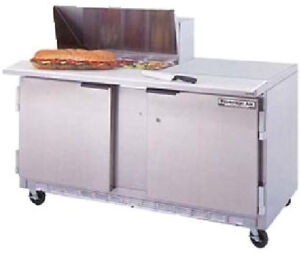 Beverage air Commercial Refrigeration 60 Sandwich Prep Table Spe60 16