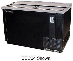 Continental Draft Beer Cooler 90 Wide Cbc64 ss