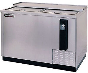 Continental Draft Beer Cooler 90 Wide Cbc50 ss dc