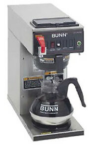 Bunn 12 Cup Automatic Coffee Brewer cwtf15 1 0293