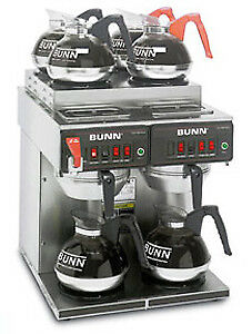 Bunn 12 Cup Automatic Coffee Brewer With 4 Or 6 Warmers cwtf 4 2 0011