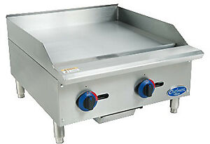 Globe Chefmate 24 Gas Griddle C24gg