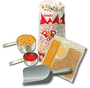 Benchmark Usa Popcorn Starter Kit 4 Oz Popper Model Number 45004