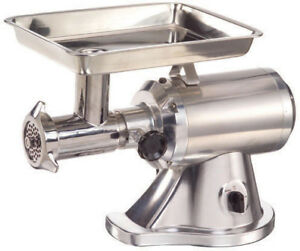 Adcraft 22 Head Electric Meat Grinder Model Mg 1 5