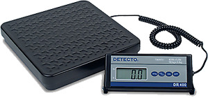 Detecto Scale Shipping receiving Digital Dr400