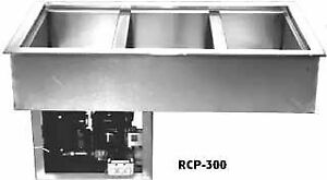 Wells Cold Food Unit 3 pan Rcp 300