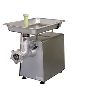 Univex Meat Grinder Bench Style With 12 Attachment Hub Mg8912
