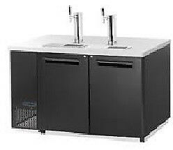 Maxximum Double Keg Cooler With Tower Mcbd 60 2b