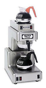 Bunn 12 Cup Automatic Coffee Brewer With 2 Warmers ol35 0002