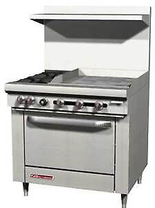 S series Range 36 W 36 Thermostatic Griddle S36a 3t
