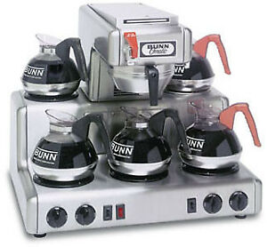 Bunn 12 Cup Automatic Coffee Brewer With 5 Warmers rtf 0004