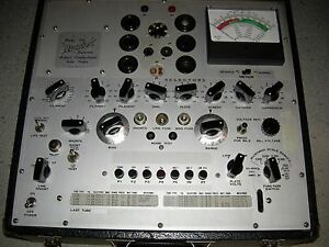 Hickok Tube Tester Repair Calibration Service Only check Listing For Models