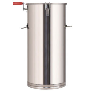 Stainless Steel 2 Frame Honey Extractor Manual Beekeeping Equipment New