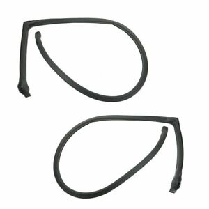 Roof Rail Weatherstrip Seals Pair For 76 80 Plymouth Volare Aspen