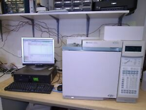 Agilent Hp 6890 Gc Win 7 Chemstation Data Sys Was Fpd Now Fid