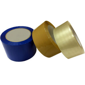 Carton Sealing Shipping Packing Tapes Sizes 2 3 Clear Brown Blue Red
