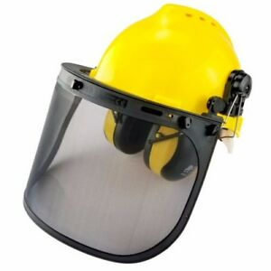 Professional Safety Helmet 4 in 1 Construction Hard Hat Ear Face Protection