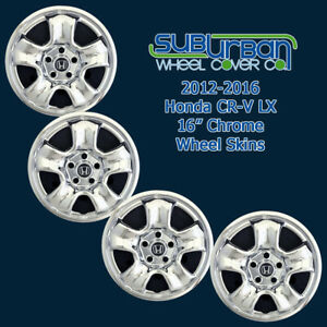 2012 2016 Honda Cr v Lx Imp86x 16 Chrome Wheel Skins Fits Steel Wheel Set 4