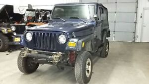 Jeep Tj Wrangler 2000 Seat Track Drivers Riser Front 564