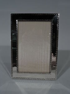 Tiffany Frame Picture Photo Contemporary Modern American Sterling Silver