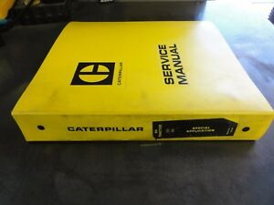 Caterpillar Cat D4 Tractor Special Application Service Manual