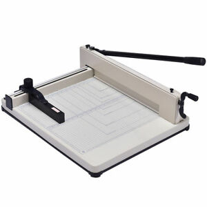 17 Inch A3 Paper Cutter Guillotine Trimmer Cutting Machine 400 Sheets Heavy Duty