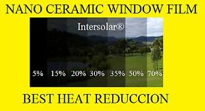 Window Film 5 Nano Ceramic Tint Residential Auto 32 X100 2ply Intersolar