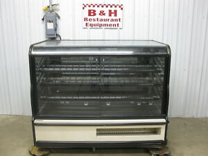 Csc 63 Glass Two Dr 2 Door Self Serve Bakery Donut Display Show Case 5 3